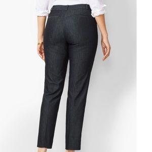 Talbots Black denim signature flare jeans Sz. 8P